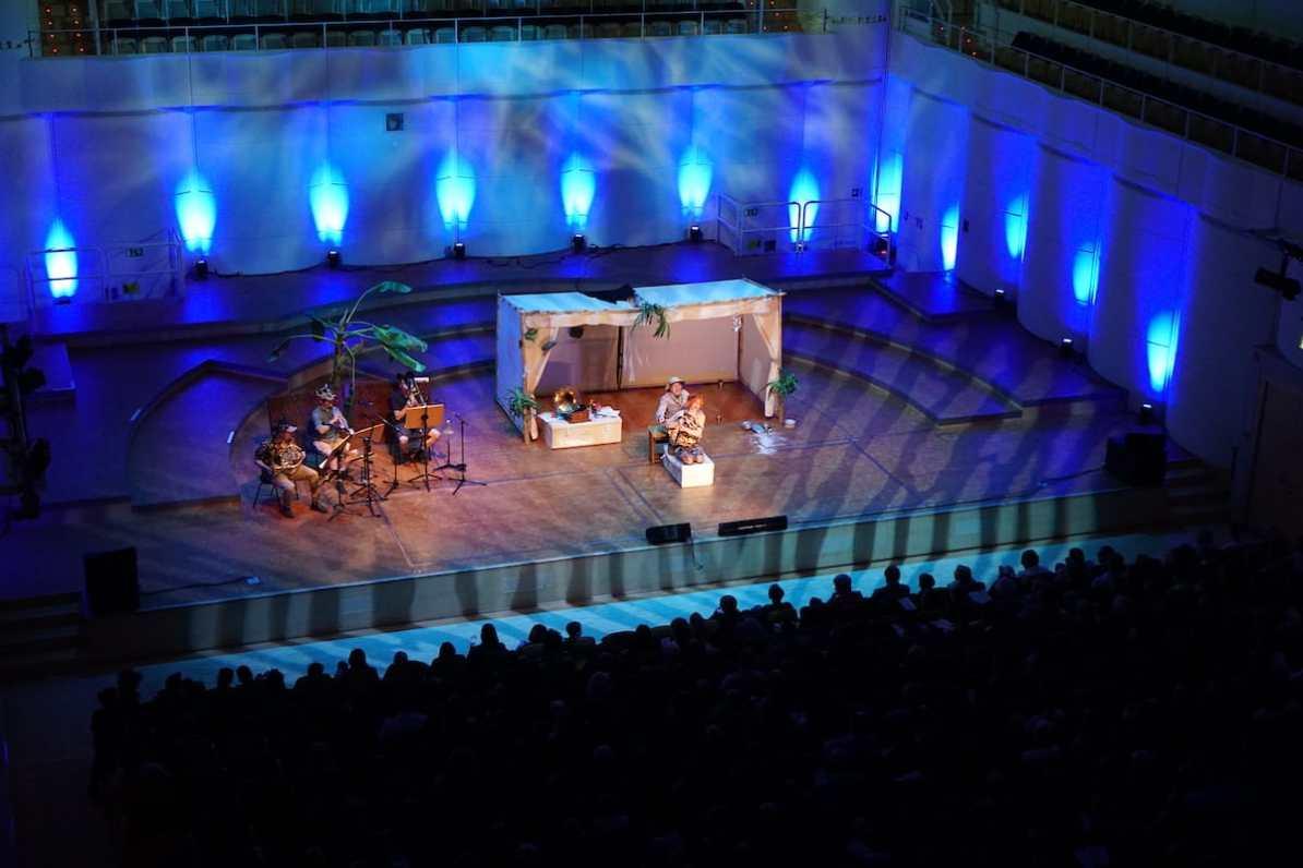 Auf Expedition beim 3. Familienkonzert Foto: A. Schürer/Dortmunder Philharmoniker