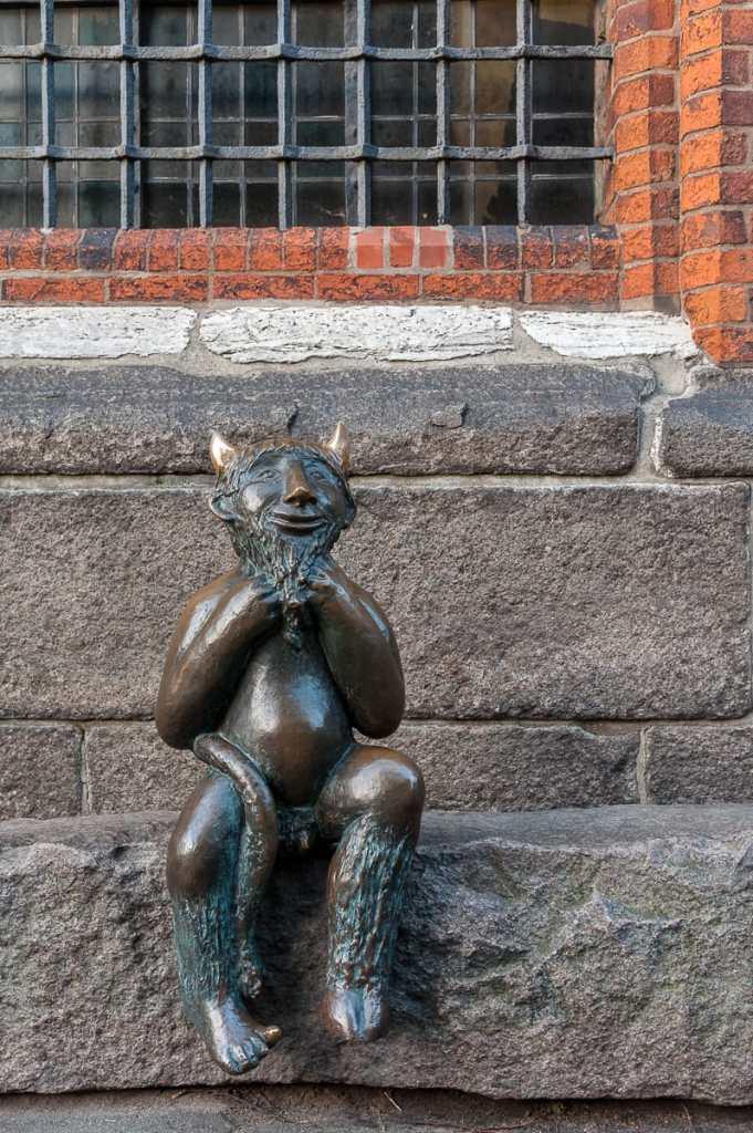 Der kleine Teufel bei St. Marien
