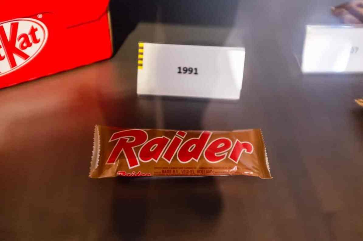 Raider oder Twix