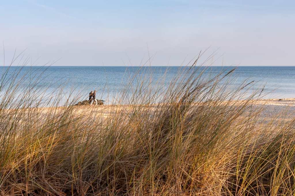 Laufen durch die Dünen in Timmendorfer Strand