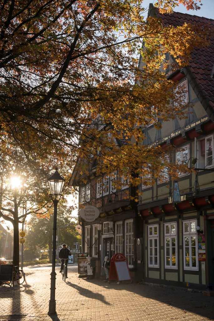 Celle an einem Herbstmorgen