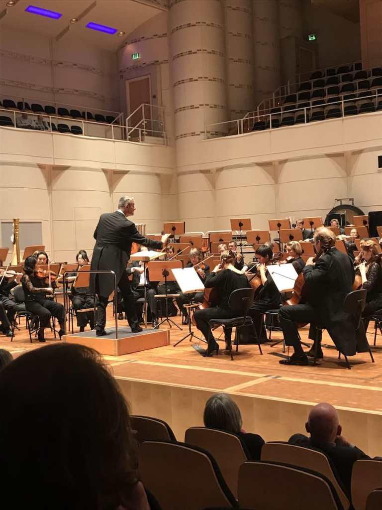 """4. Philharmonisches Konzert """"Trauer und Hoffnung"""", Dirigent: Marc Piollet."""