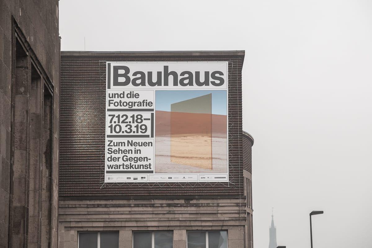 Bahaus und die Fotografie-Ausstellung im NRW-Forum.