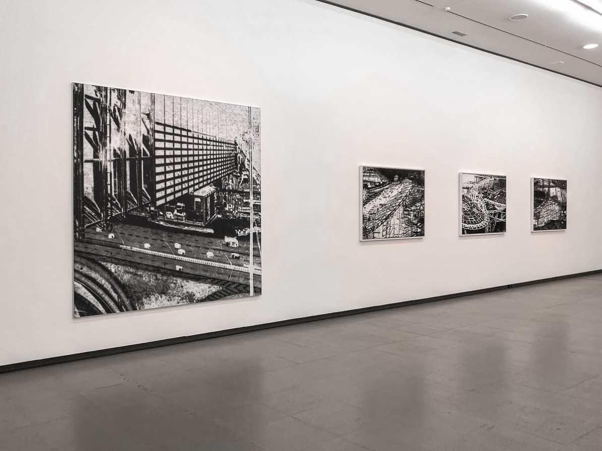 Werke von Antje Hanebeck.