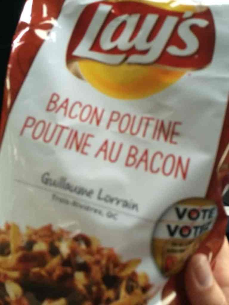 Lay's Bacon Poutine Chips