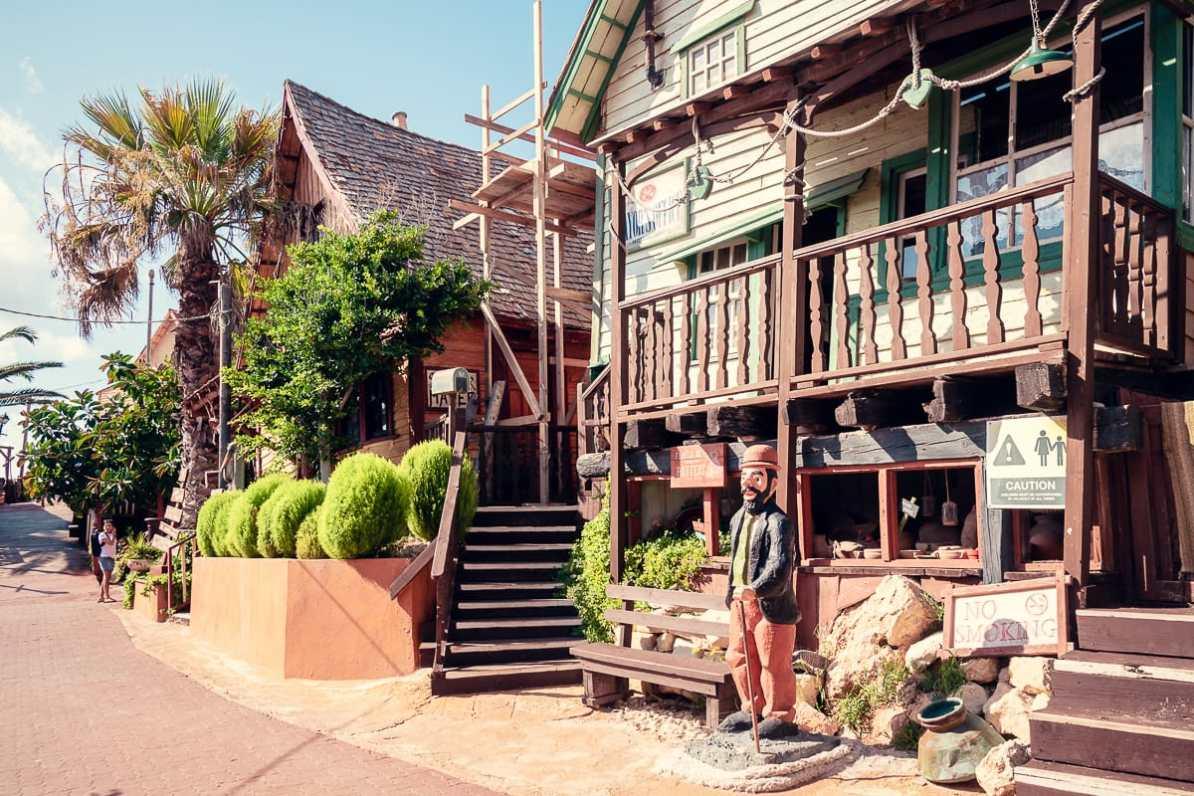 Kulisse im Popeye Village