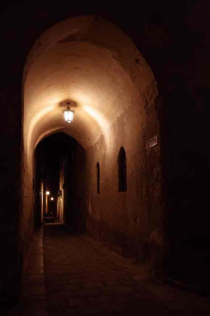 Nachts in Mdina