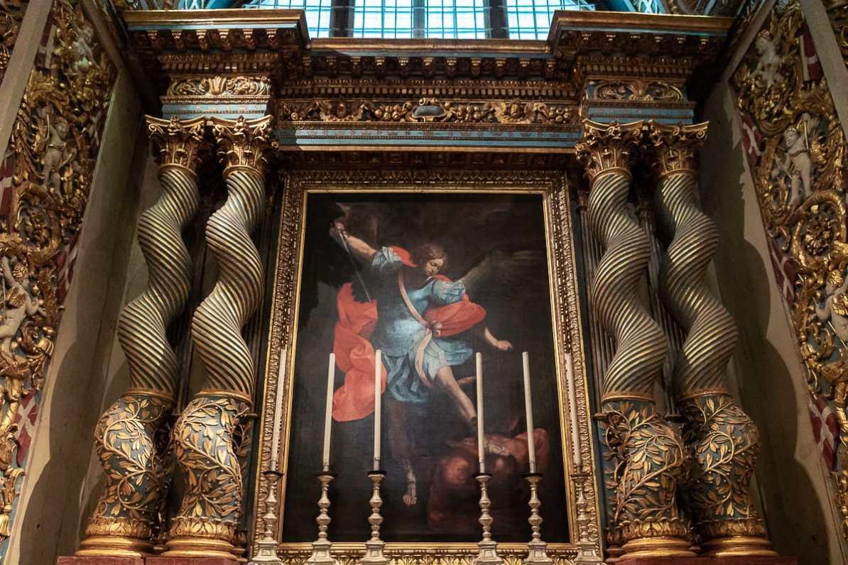 Der heilige Michael in der Loge der Province