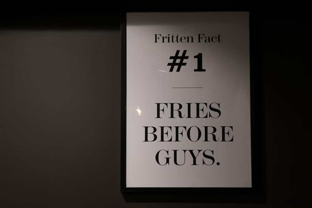 Fries before guys - nuff said.
