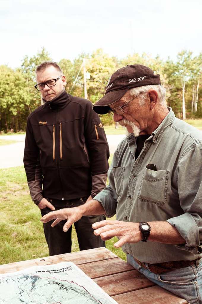 Pat Rousseau erklärt uns die wichtigsten Dinge rund um den Nationalpark.
