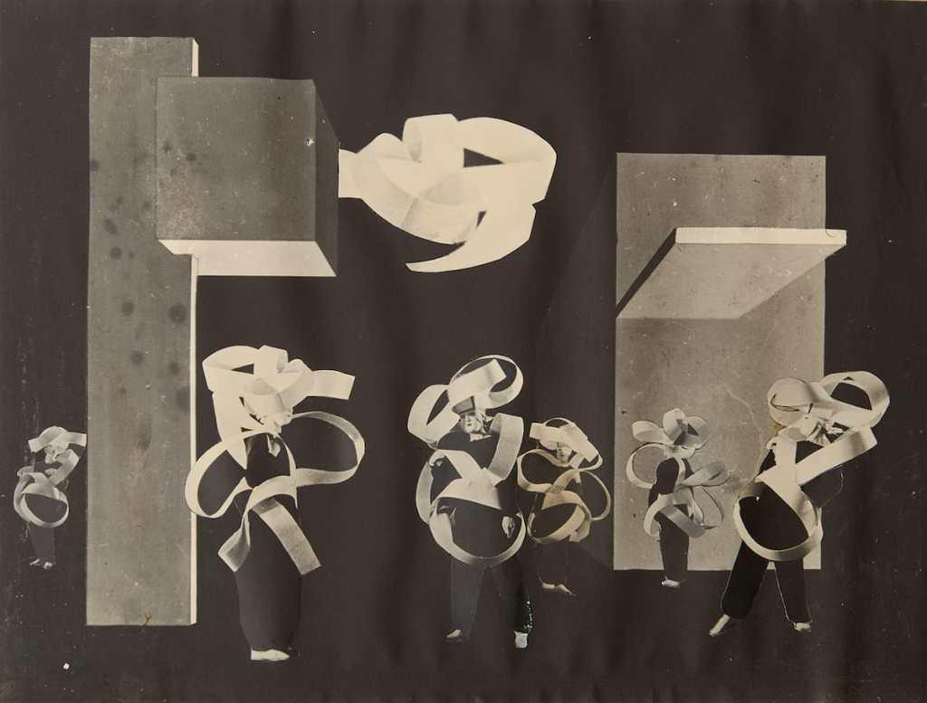 Xanti Schawinsky, Spectodrama, 8: Gebäude (Spannung), 1937, © The Xanti Schawinsky Estate