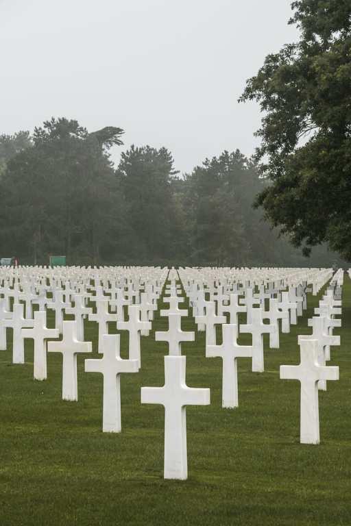 Die wohl berühmtesten Kreuze eines Friedhofs - Hollywood sei Dank.