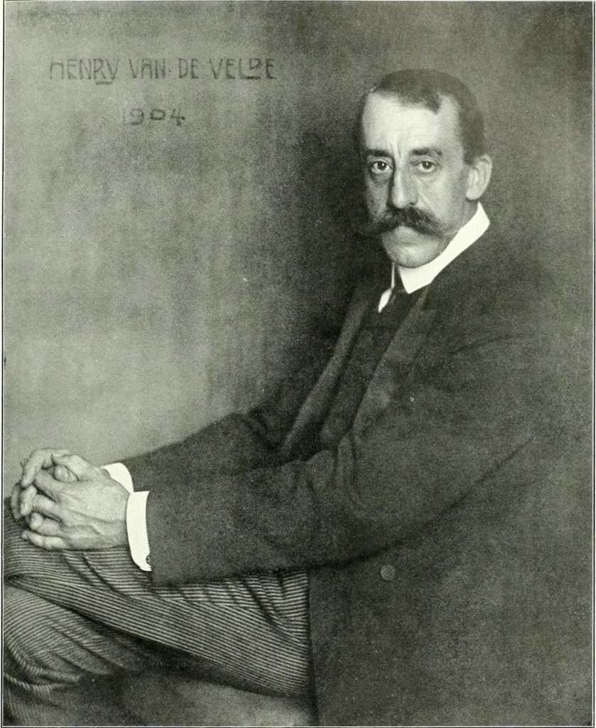 Henry van de Velde Foto: Nicola Perscheid, 1904 gemeinfrei, via Wikipedia.