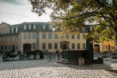 Goethes Wohnhaus, Weimar.
