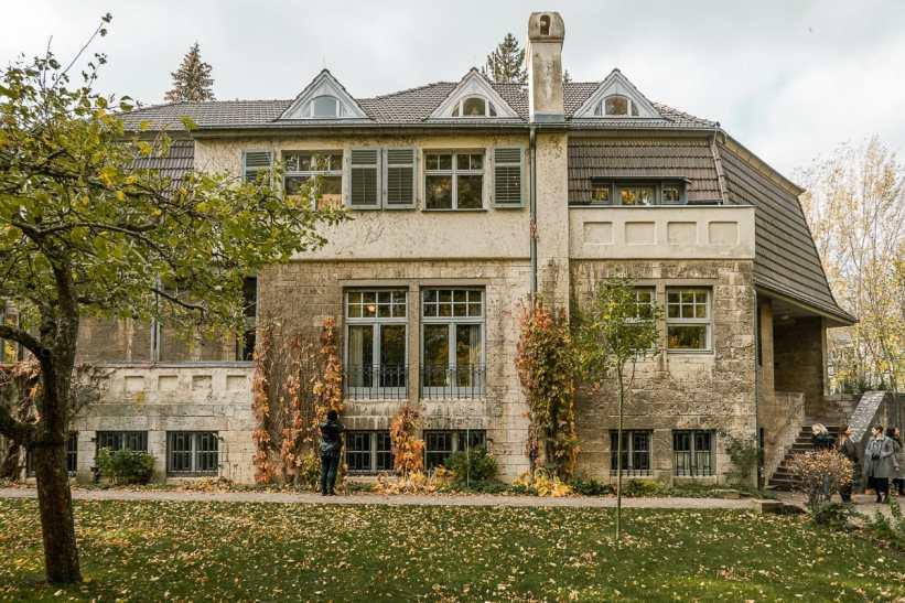 Fassade Haus Hohe Pappeln.