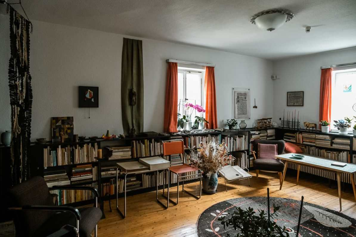 Wohnzimmer von Grete.