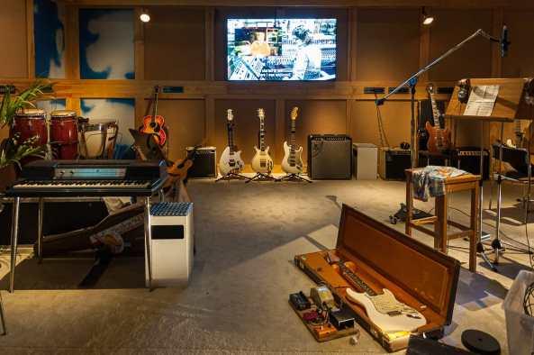 Im Studio mit ABBA
