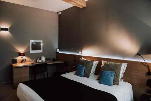 Mein Zimmer im Hotel Neuvice, Lüttich.