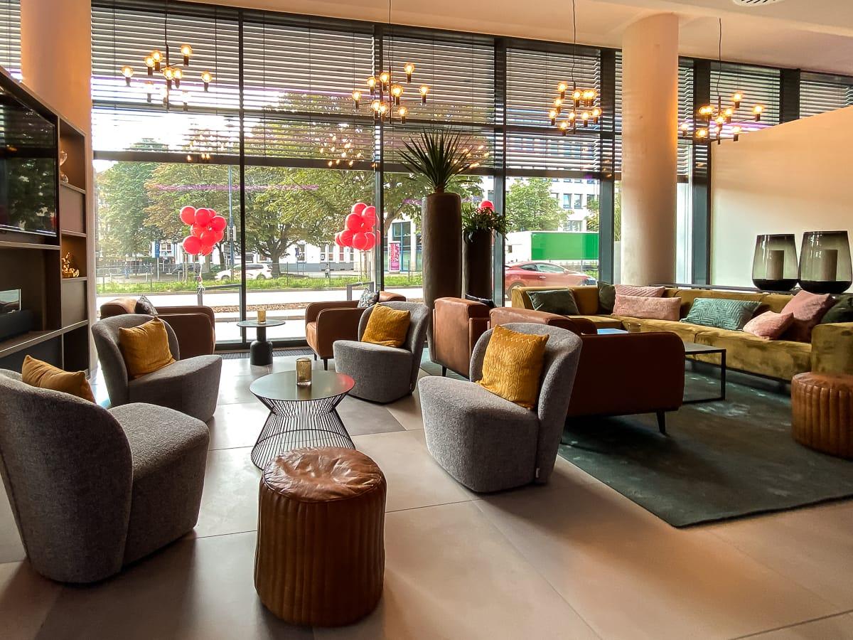 Lounge des Leonardo Dortmund Hotels