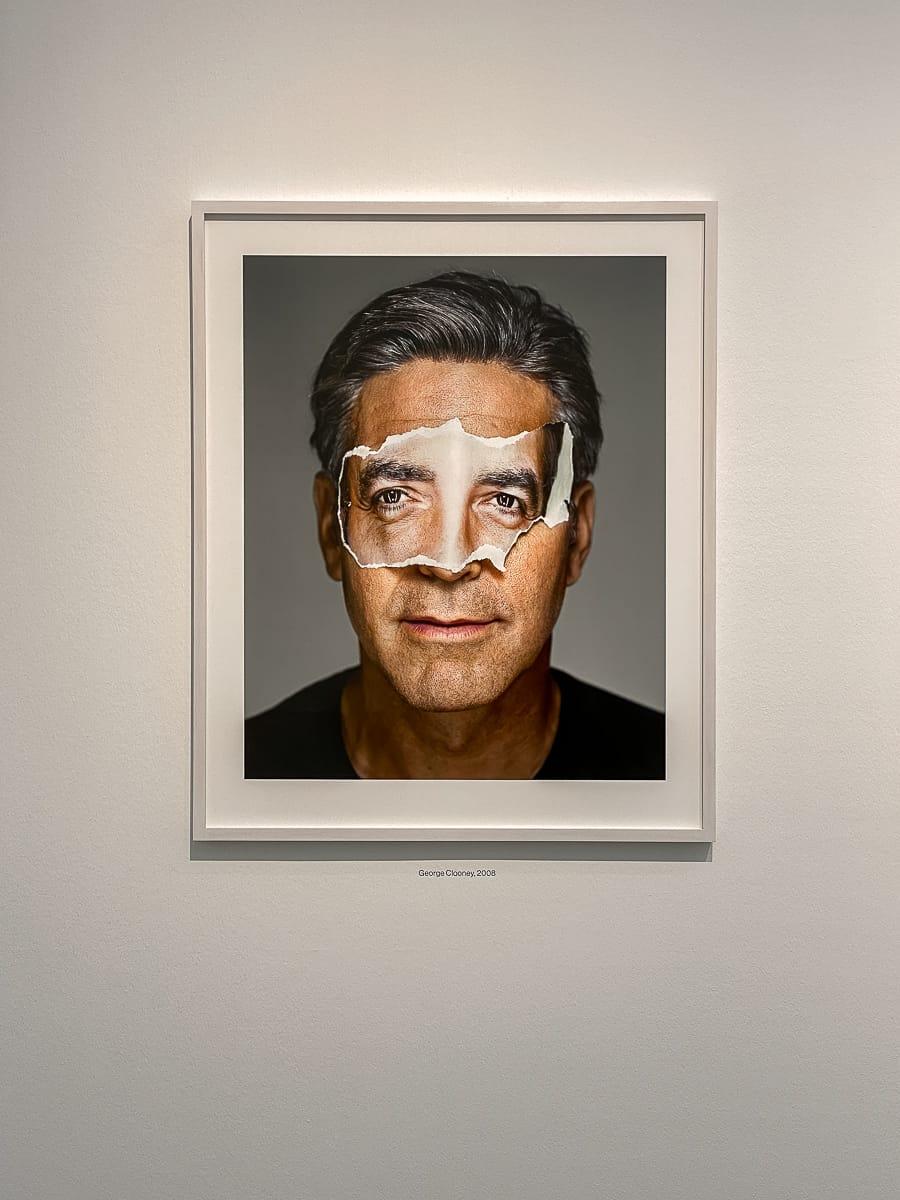 Portrait von George Clooney aus der Portrait-Serie von Martin Schoeller.