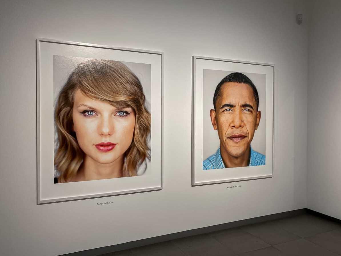 Close up von Martin Schoeller - Taylor Swift & Barack Obama.
