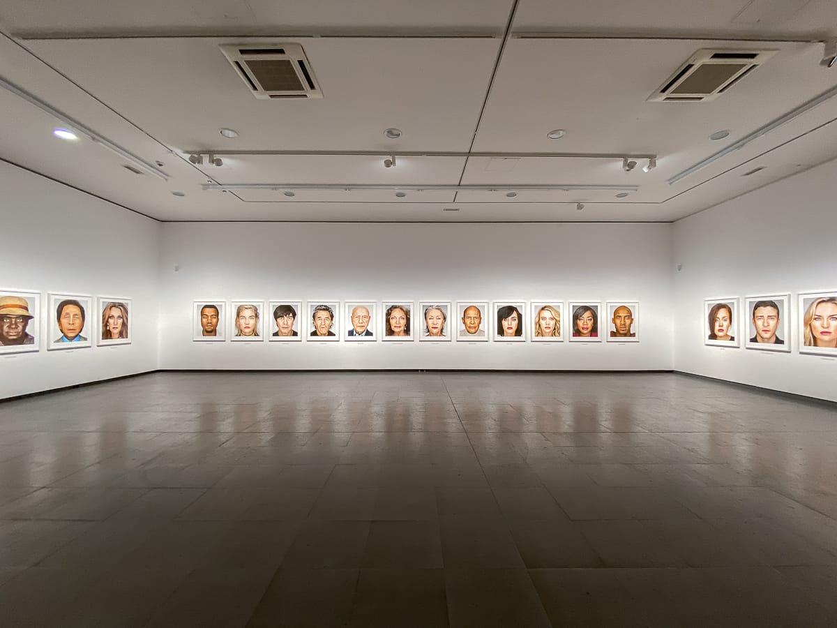 Ausstellungsansicht Portraits im NRW-Forum