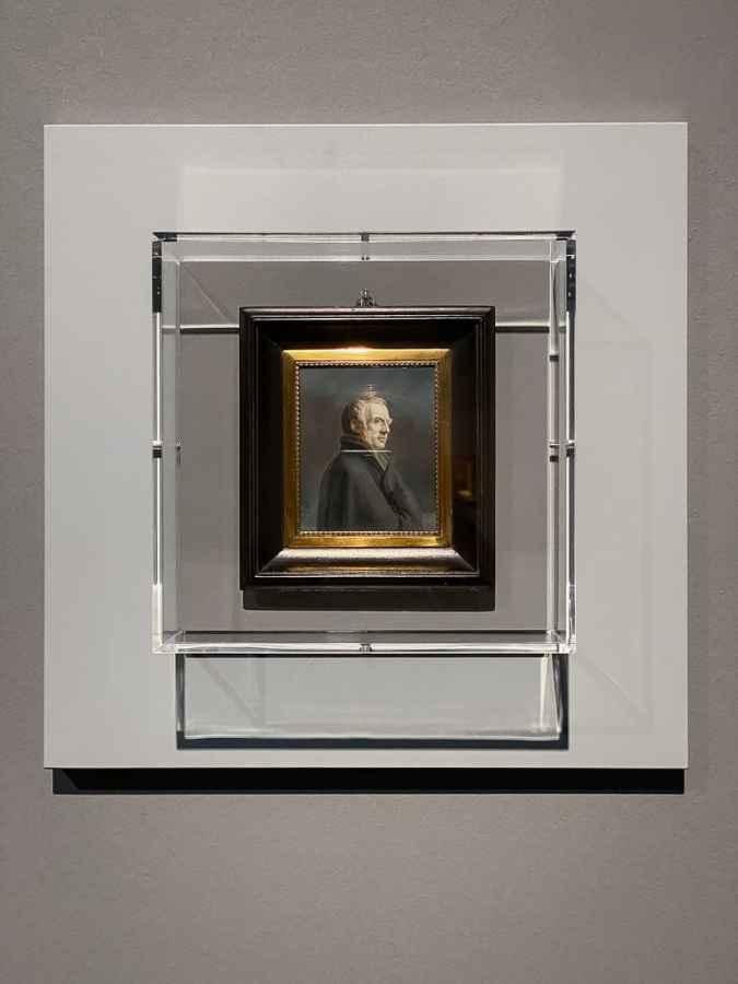 Bild: Alphonse de Labroue - Bildnis Caspar David Friedrich (1820), Fondation Custodia, Collection Frits Lugt, Paris