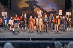 The Cast of Billy Elliot Photo: The Muny