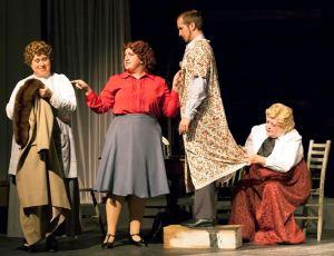 Laura Kyro, Lindsey Jones, Zach Wachter, Lynda Waters Photo by John Lamb Stray Dog Theatre