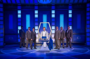 Ben Nordstrom and cast Photo by Peter Wochniak STAGES St. Louis