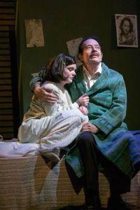Samantha Moyer, Bobby Miller Photo by John Lamb New Jewish Theatre