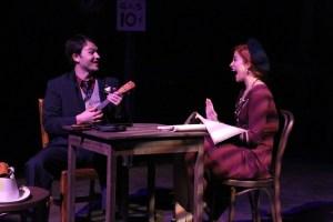 Matt Pentecost, Larissa White Photo by Jill Ritter Lindberg New Line Theatre