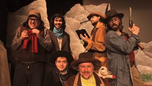 Cast of Cannibal! The Musical Photo: Magic Smoking Monkey Theatre