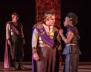 Charles Pasternak, Raina K. Houston Photo by J. David Levy Shakespeare Festival St. Louis