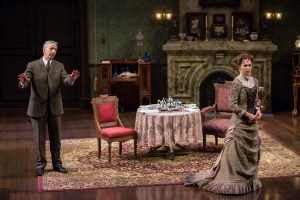 Geoffrey Wade, Janie Brookshire Photo by Eric Woolsey Repertory Theatre of St. Louis