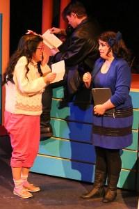 Grace Seidel, Evan Forachon, Anna Skidis Photo by Jill Ritter Lindberg New Line Theatre