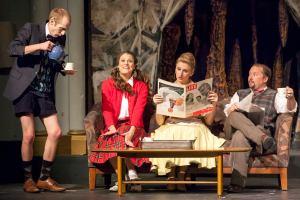 Corey Fraine, Angela Bubash, Dawn Schmid, Patrick Kelly Photo by John Lamb Stray Dog Theatre