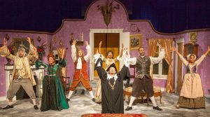 Cast of The Heir Apparent Photo: St. Louis Shakespeare