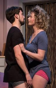 Andrew Rea, Sophia Brown Photo by John Lamb St. Louis Actors' Studio