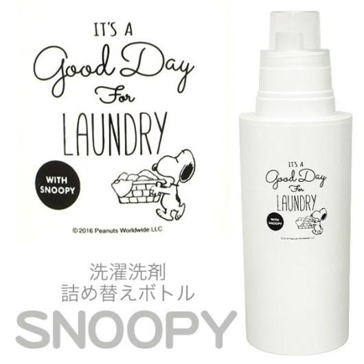 スヌーピー 洗濯洗剤詰め替えボトル