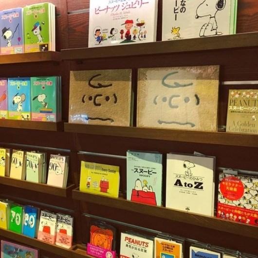 蔦屋書店梅田のPEANUTSフェア