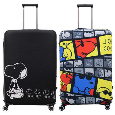 スヌーピーのスーツケースカバー