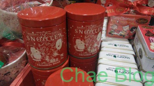 スヌーピーの紅茶「スヌーティー」2019クリスマスブレンド