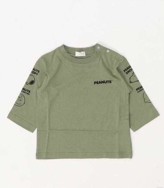 スヌーピーとプティマインのコラボTシャツ