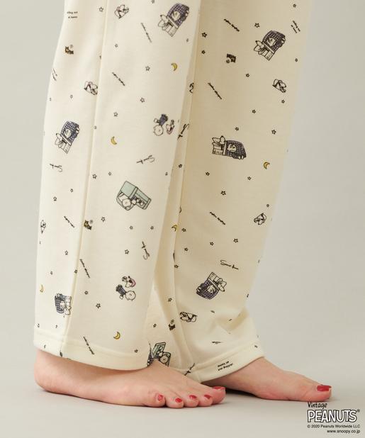 スヌーピーとテリトワールコラボのパジャマ2020春
