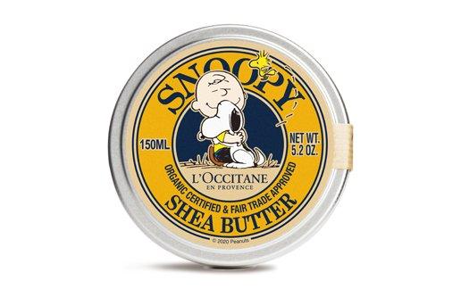 スヌーピーとロクシタンのコラボ商品