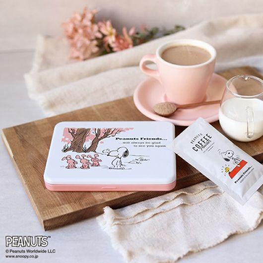 スヌーピーコーヒー「桜黒糖ラテ」