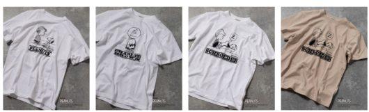 スヌーピー×ノーリーズのTシャツ2021