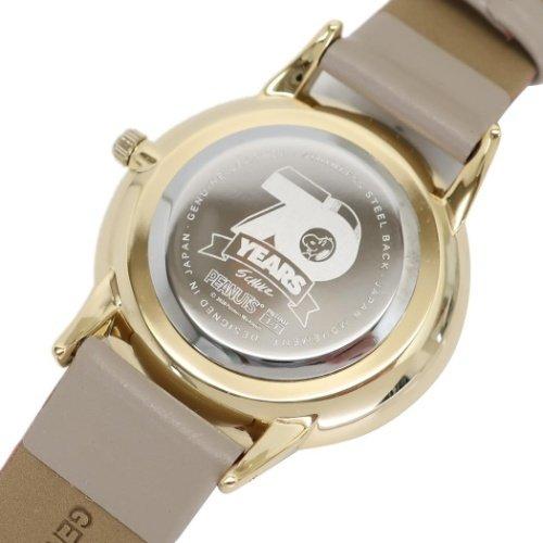 スヌーピーの70周年記念デザイン腕時計