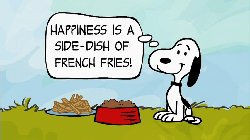 Image result for snoopy with food